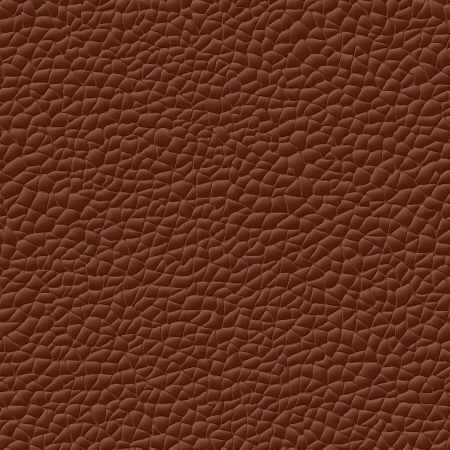 nahtlose Lederstruktur braunem Hintergrund-Muster Vektorgrafik