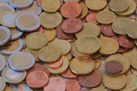 Money in euro currency Stock fotó