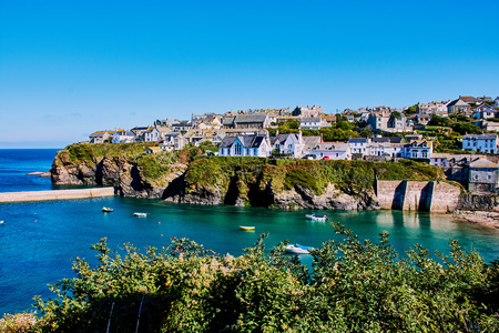 The pretty fishing village of Port Isaac has become a major tourist attraction after being featured in the ITV series Doc Martin where it is known as Port Wenn