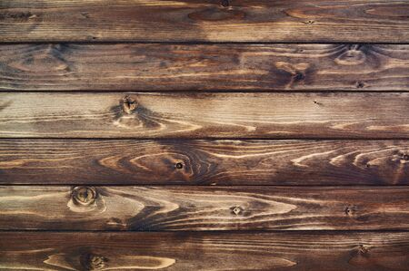 brown rustic wood wall texture background with copy space