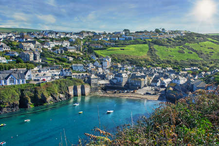 The fishing village Port Isaac has become a major tourist attraction after being featured in the ITV series Doc Martin where it is known as Portwenn