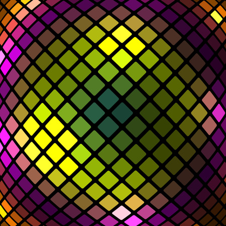 quadrate: abstract geometric background.design of colored rectangles.mosaic pattern.vector