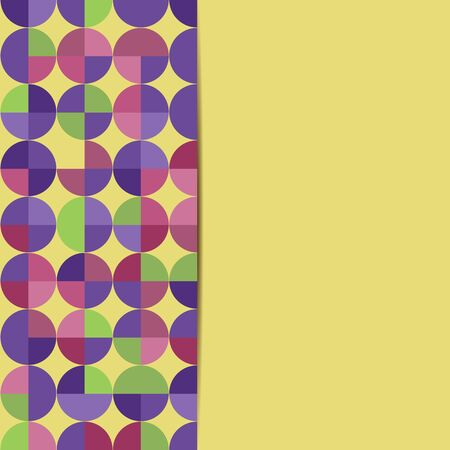 paperhanging: abstract geometric background.abstract background with circles.colorful pattern of circles.vector Illustration