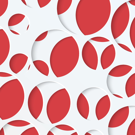 abstract background of circles in different sizes.paper background with round holes.vector
