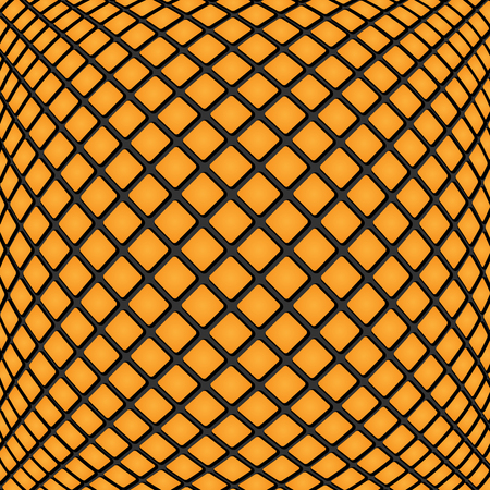 virid: abstract geometric background.design of orange rectangles.mosaic pattern.vector Illustration