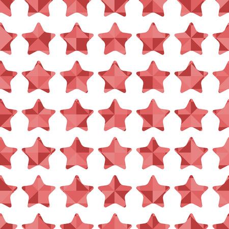 paperhanging: Seamless pattern of pink stars
