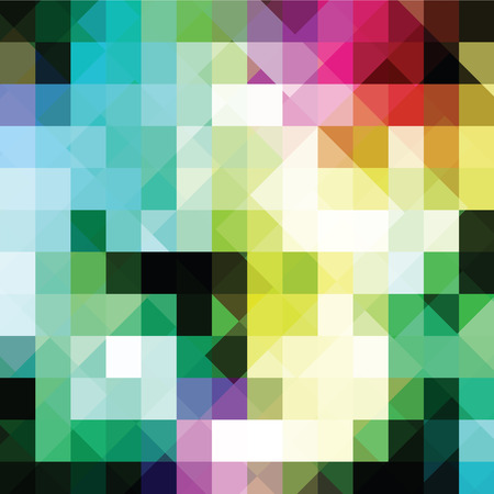 paperhanging: Colorful geometric background