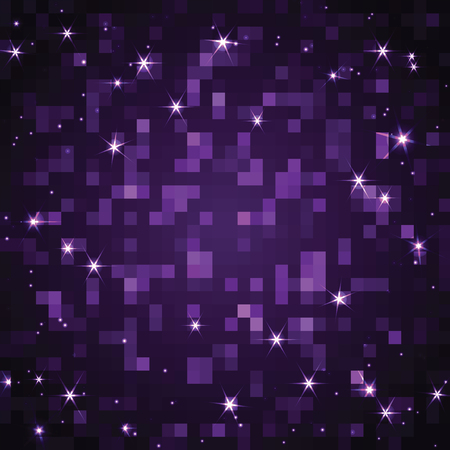 medley: Abstract shimmering background of rectangles Illustration