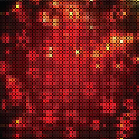 paperhanging: Abstract background of red and yellow shapes
