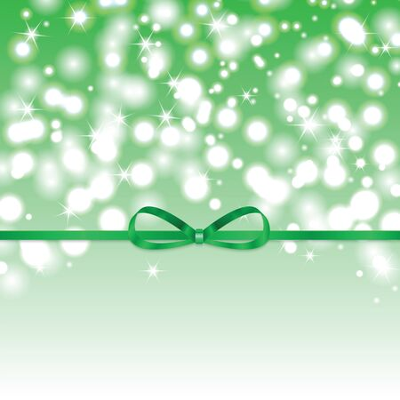 boke: Abstract green sunny background with green ribbon