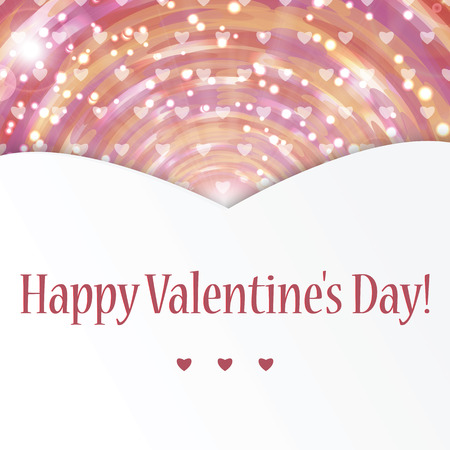 light hearted: Background with hearts for Valentines Day