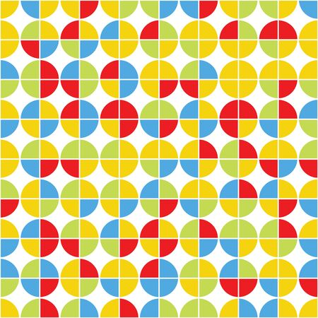 paperhanging: Pattern of circles.Abstract geometric
