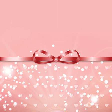Background with hearts for Valentines Day