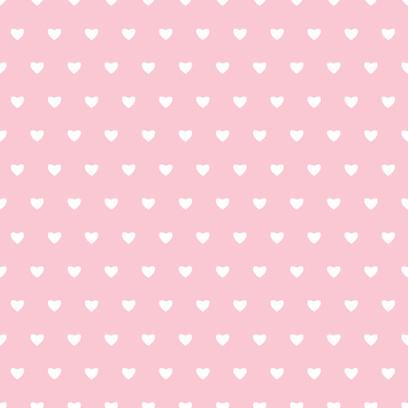 paperhanging: Seamless pattern with hearts for Valentines Day .Simple print of  hearts.Wrapping paper. Scrapbook paper. Tiling. Vector illustration. Background. Graphic texture for design, wallpaper.
