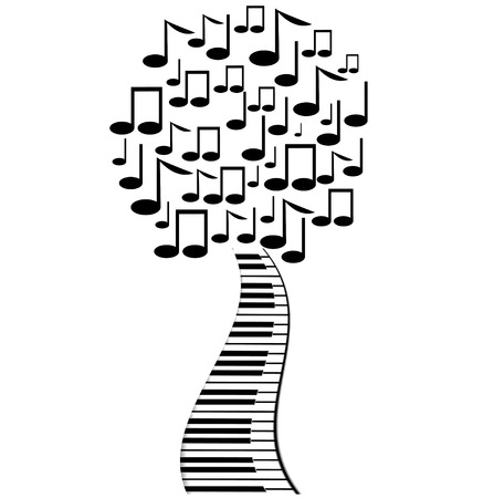 operetta: abstract tree from notes and keys
