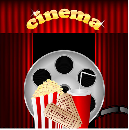 portiere: illustration of the cinema