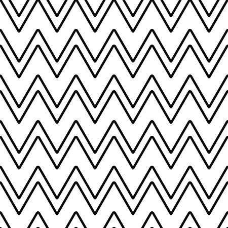 Einfarbiges abstraktes nahtloses Muster der geometrischen Linie mit Zickzack. Geschenkpapier. Einklebebuchpapier. Fliesen. Vektor-Illustration. Hintergrund. Grafische Textur für Design, Tapete. Standard-Bild - 80132843
