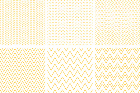 Set of geometric line abstract seamless herringbone and chevron pattern .Chevron.Wrapping paper. Scrapbook paper.