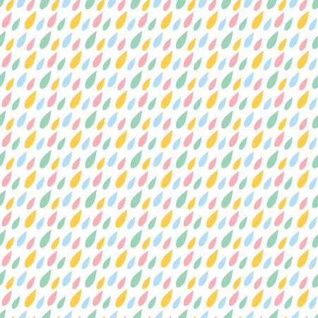 baby: Line abstract seamless pattern with drops. Wrapping paper. Scrapbook paper. Tiling. Vector illustration.