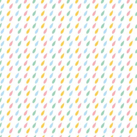 Linie abstraktes nahtloses Muster mit Tropfen. Geschenkpapier. Sammelalbum Papier. Fliesen. Vektor-Illustration Hintergrund. Standard-Bild - 80875752
