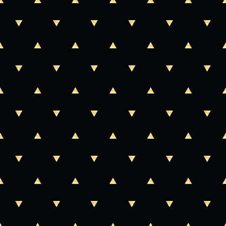 Geometrisches Linie Goldzusammenfassung nahtloses Muster mit Dreieck. Geschenkpapier. Einklebebuchpapier. Fliesen. Vektor-Illustration. Hintergrund. Grafische Textur für Design, Tapete. Standard-Bild - 81229334