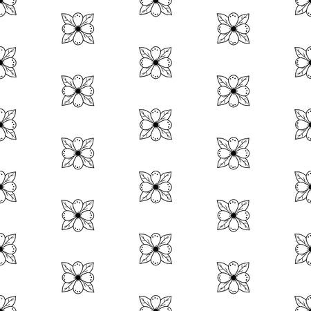Hand drawn floral seamless pattern .Hand drawn decorative vectorseamless pattern with flower design. Cute flowers for your branding. This pattern can be used for  business cards, postcards, wedding invitations , wrapping paper