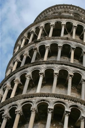 Of course its the leaning tower of Pisa. photo