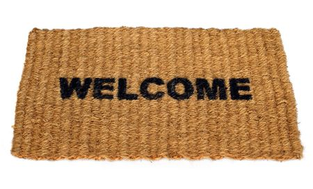 Welcome mat Stock Photo - 896561