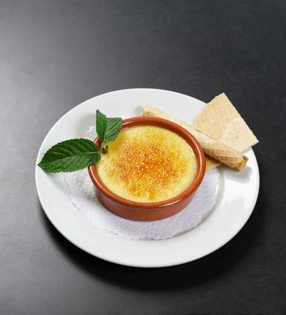 A rich traditional french dessert. photo