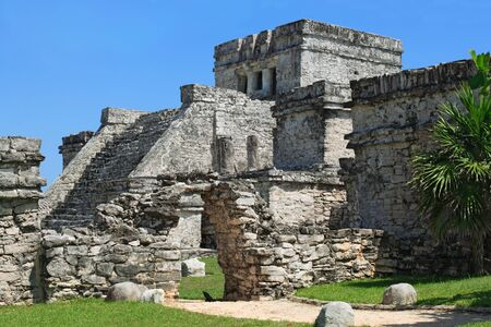 Photo of the Mayan ruins in Tulum Mexico. Stock Photo - 8115999