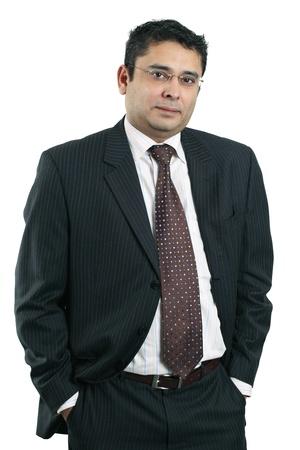 Photo of a confident Indian businessman. Zdjęcie Seryjne