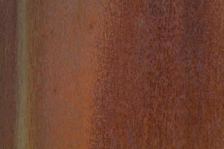 錆金属表面のクローズ アップ写真。