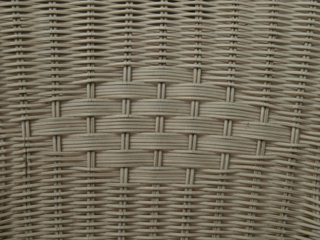 Background from natural rattan  Handmade weaving  photo