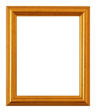 A small golden frame Stock Photo