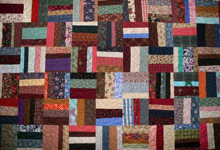 large quilt Stock Photo