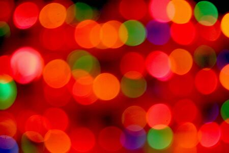 deliberate: A deliberate out of focus picture of xmas lights