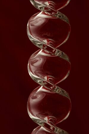 deep burgundy background reflecting in glass  photo