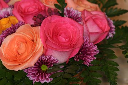 A tight shot of pink and peach colored flowers stock photo picture a tight shot of pink and peach colored flowers stock photo 1080669 mightylinksfo