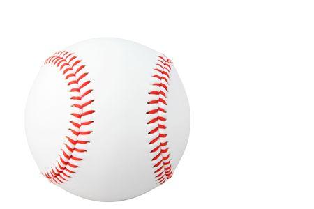 アメリカの野球は、白で隔離ない傷とブランドの新しい