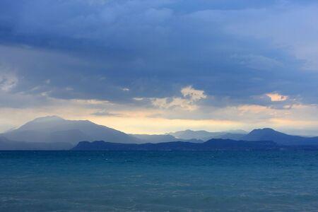 tonalit�: Paysage spectaculaire photo, la tonalit� fantastique bleu