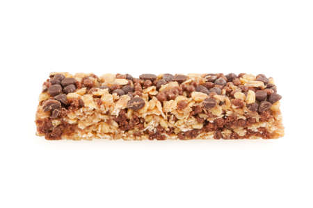 Granola bar isolated on white Stock Photo - 6827391