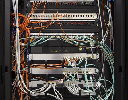 Corporate network center photo