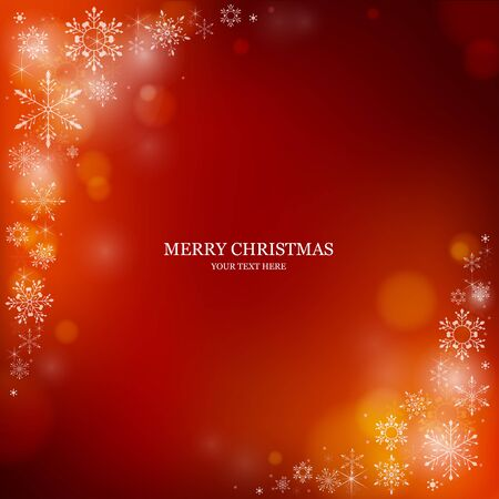 red christmas background: Christmas background,Vector EPS10. Illustration