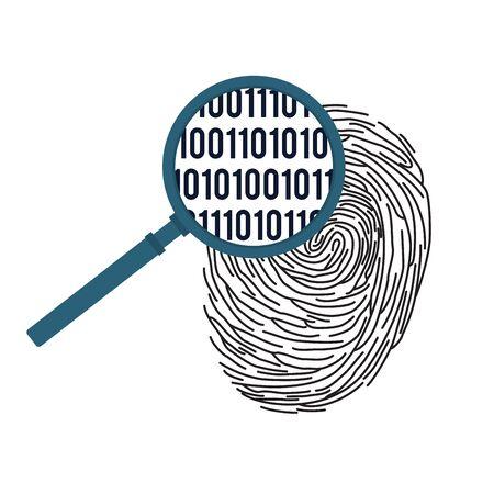 Digital fingerprinting concept