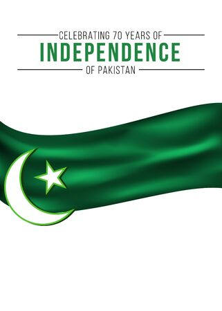Pakistan Independence day themed banner Stock fotó - 83561672