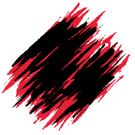 Red and black grunge abstract background.