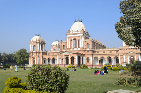 BAHAWALPUR, PAKISTAN - DECEMBER 28, 2016: View of Noor Mahal (Palace) at daytime