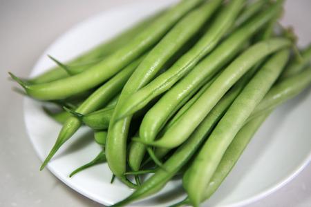 green bean: Green bean Stock Photo