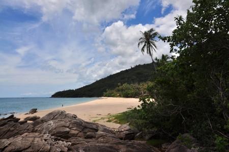 southern of thailand: Khao Ply Dam Beach, Sichon, Nakhon Si Thummarat, southern Thailand.