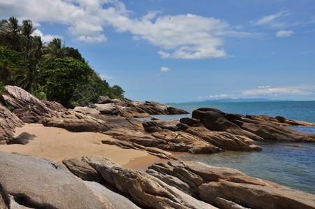 southern thailand: Khao Ply Dam Beach, Sichon, Nakhon Si Thummarat, southern Thailand.
